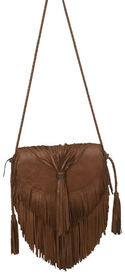 Preload https://img-static.tradesy.com/item/23219729/cleobella-fringe-tancognac-tan-leather-shoulder-bag-0-1-540-540.jpg