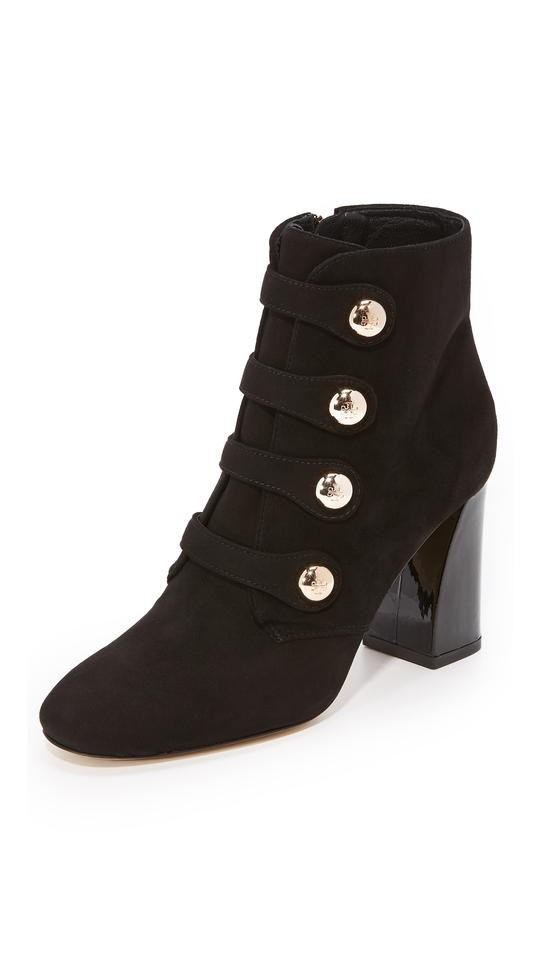 fab9792b8 Tory Burch Black Marisa 85mm Strappy Boots Booties Size US 7.5 ...