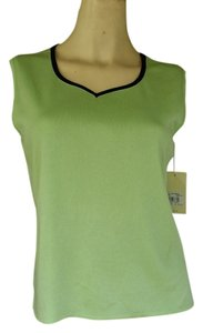Toula Slinky Knit Top Green