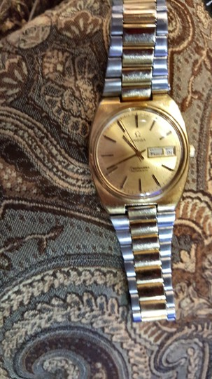 Omega AUTHENTIC OMEGA SEAMASTER watch (Vintage) with date/time