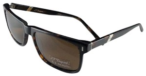 S.T. Dupont New S.T. DUPONT Sunglasses ST 035 C3 Brown Tortoise w/ Brown Polarized
