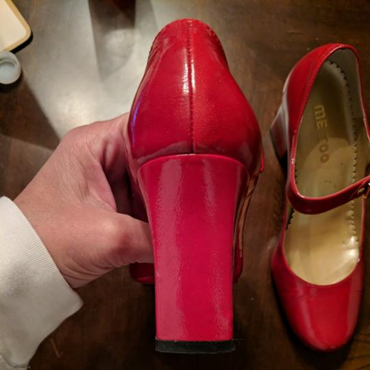 Me Too Cherry red Pumps