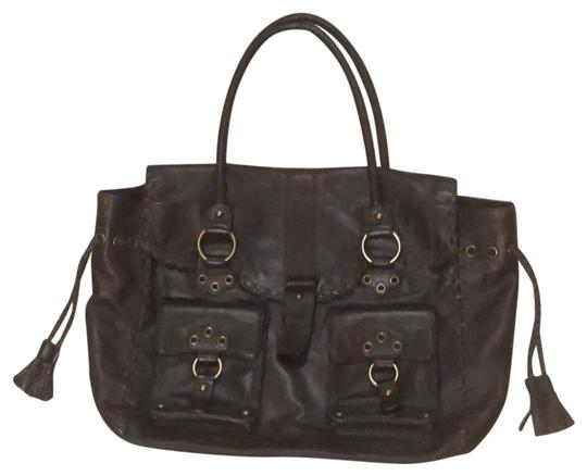 Preload https://img-static.tradesy.com/item/23220196/bcbgmaxazria-large-summer-brown-leather-tote-0-1-540-540.jpg