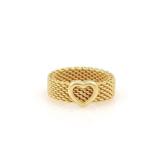 Preload https://img-static.tradesy.com/item/23220300/tiffany-and-co-somerset-18k-yellow-gold-6mm-wide-mesh-heart-band-ring-0-0-540-540.jpg