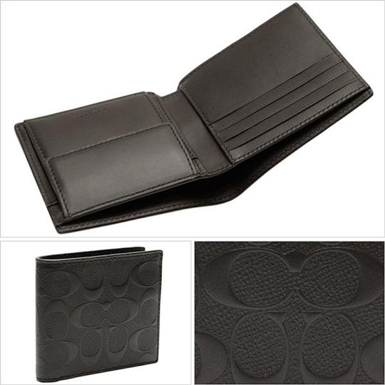 Coach NEW COACH classic Embossed signature leather wallet coin purse pocket