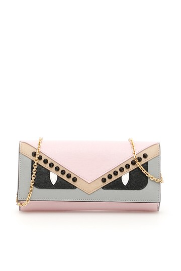 Multicolor Studded Continental Crayon Monster Wallet by Fendi a2936d8598608