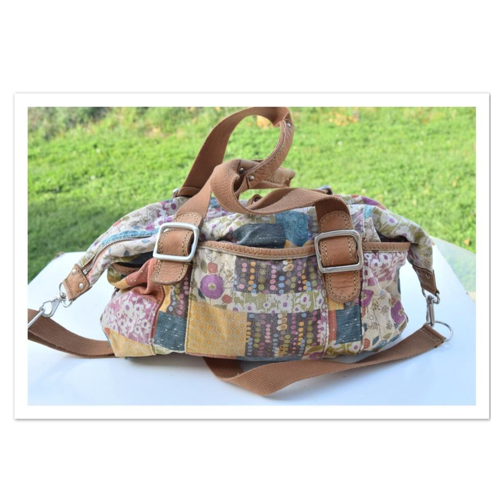 Fossil Multi Color Travel Bag