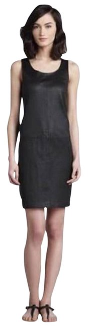 Preload https://img-static.tradesy.com/item/23220579/vince-black-stretch-leather-scoopneck-short-night-out-dress-size-10-m-0-1-650-650.jpg