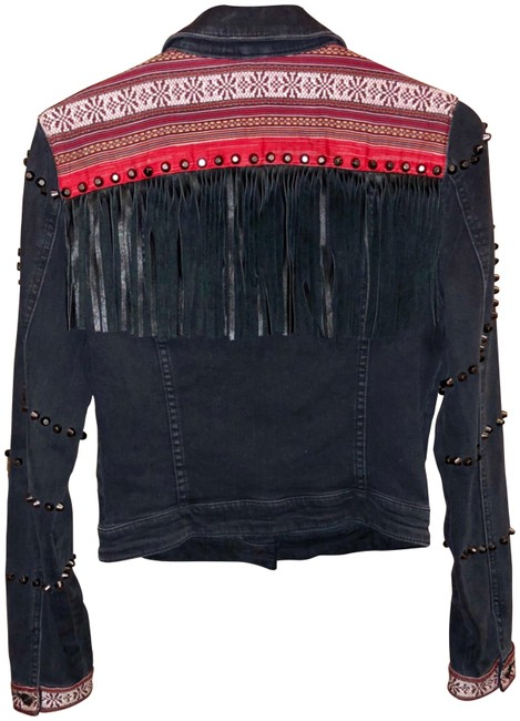 Preload https://img-static.tradesy.com/item/23220609/guess-black-brittney-faux-leather-fringe-embroidered-jacket-size-8-m-0-1-650-650.jpg