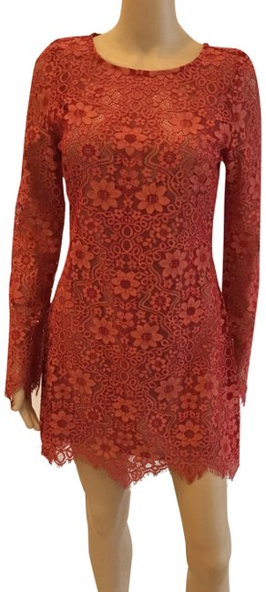 Preload https://img-static.tradesy.com/item/23220617/for-love-and-lemons-red-lace-long-sleeve-mini-short-cocktail-dress-size-8-m-0-1-650-650.jpg