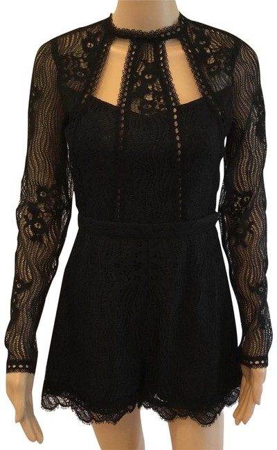 Preload https://img-static.tradesy.com/item/23220638/alexis-cutout-open-back-lace-playsuit-short-romperjumpsuit-size-4-s-0-1-650-650.jpg