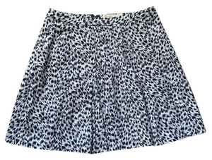 Michael Kors Mini Skirt Black & White