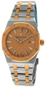 Audemars Piguet Audemars Piguet Royal Oak Quartz 33mm, Rose Gold Dial - Two-Tone