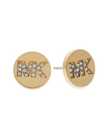 gold-fulton-stainless-steel-stud-mkj4665710-earrings by michael-kors