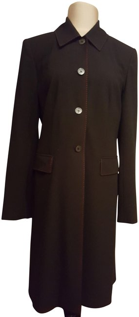 Preload https://img-static.tradesy.com/item/23220896/michael-michael-kors-black-trench-coat-size-8-m-0-1-650-650.jpg
