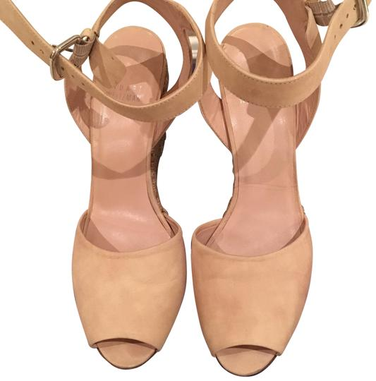 Stuart Weitzman Light Pink Wedges