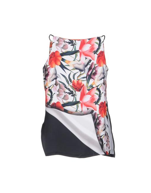 Preload https://img-static.tradesy.com/item/23221104/clover-canyon-multi-color-floral-blouse-size-4-s-0-0-650-650.jpg