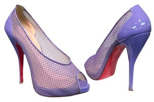 Christian Louboutin 37.5 7 Lilac Pumps