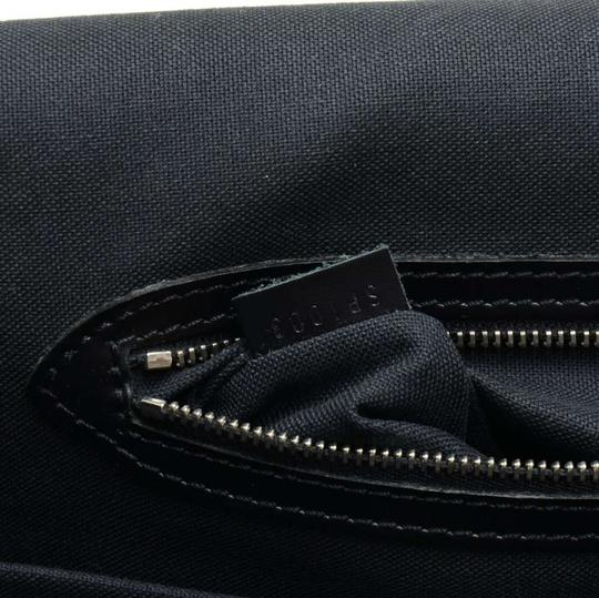Louis Vuitton Taiga Leather Black Messenger Bag
