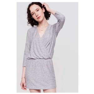 Lou & Grey short dress Grey on Tradesy