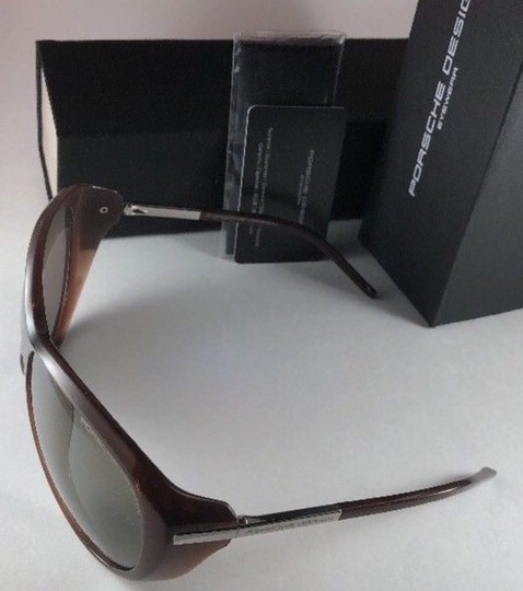 PORSCHE DESIGN New PORSCHE DESIGN Sunglasses P'8602 B Brown Chocolate Frames w/ Gray