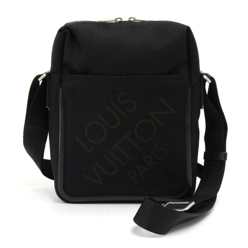c688bf4751f8 Louis Vuitton Citadin Damier Geant Black Canvas Messenger Bag - Tradesy
