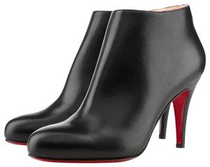 Christian Louboutin Belle Classic Zip Black Boots