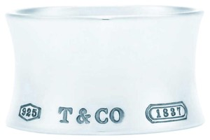 Tiffany & Co. 1837 wide silver ring