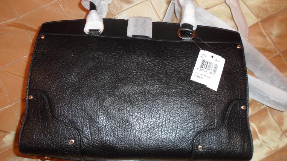 Coach Mercer New York Elegant Style Bla Black Grain Leather Shoulder Bag -  Tradesy 508b3b8b66e1c