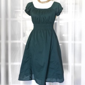 8c37541ce8 Mossimo Supply Co. short dress Green On Off Shoulder Elastic Cool Sundress  Jade on