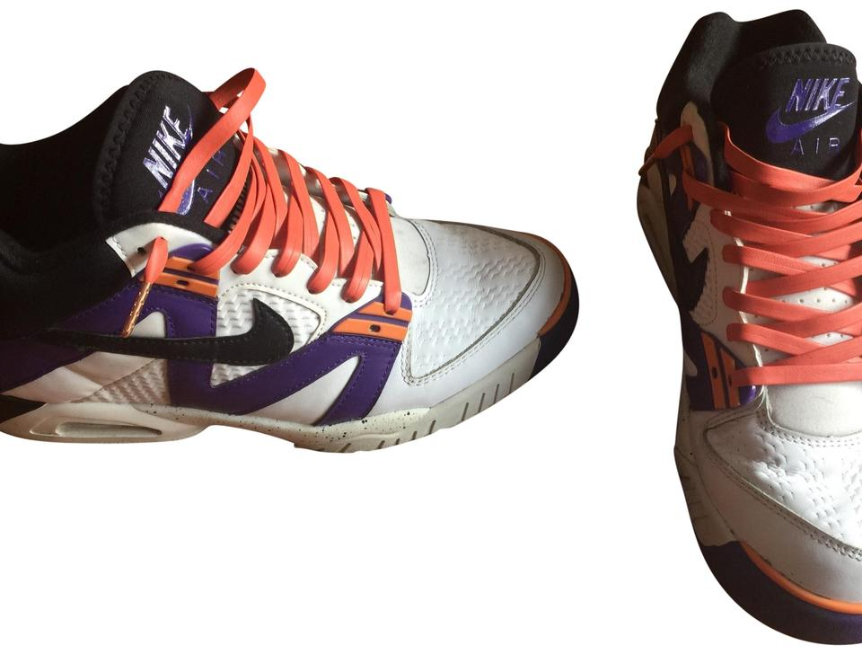 6fe53855b8a Nike Purple Men s Andre Agassi Air Tech Challenger Sneakers Size US ...