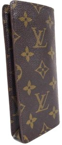 Louis Vuitton Auth Vintage Louis Vuitton Monogram Etui Lunette Simple Eyeglass Case