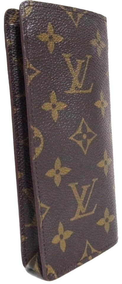 bcbbbbc5c1dd Louis Vuitton Auth Vintage Louis Vuitton Monogram Etui Lunette Simple Eyeglass  Case Image 0 ...