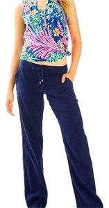 Lilly Pulitzer Relaxed Pants Navy Blue
