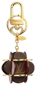 Louis Vuitton Limited Edition Sold Out LV Flowering Monogram Bag Charm Key Holder