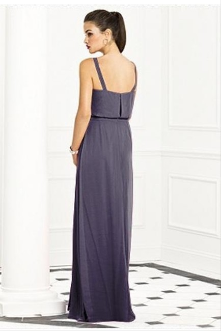 After Six Sleeveless Full Length Chiffon Dress