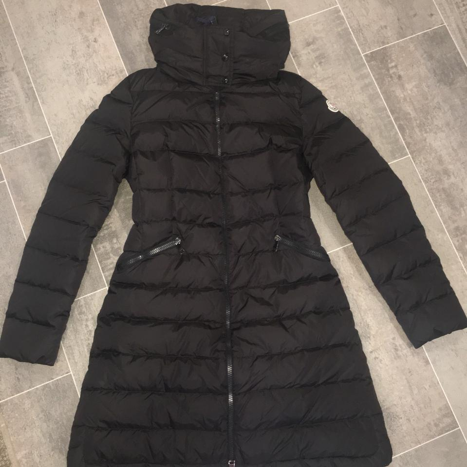07924c98d8 Moncler Flammette Water Resistant Long Hooded Down 0 Coat Size 0 (XS) -  Tradesy