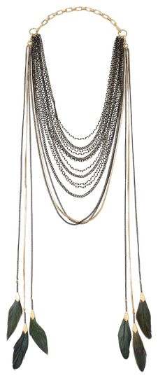 Preload https://img-static.tradesy.com/item/23222964/stella-and-dot-goldbrass-3-in-1-layered-feather-necklace-0-1-540-540.jpg