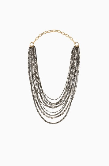 Stella & Dot STELLA & DOT 3-In-1 Layered Feather Necklace