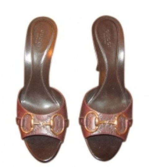 Gucci Toffee Sandals