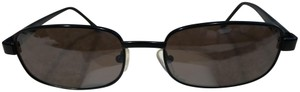 Kenneth Cole Kenneth Cole Black Rectangular with Rounded Corners Sunglasses