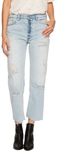 Free People Boyfriend Cut Jeans