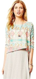Anthropologie Fashion Runway Bohemian Top Multi-color