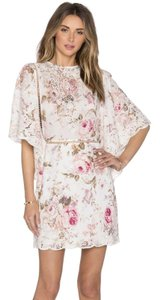 ZIMMERMANN short dress Floral Embroidery on Tradesy