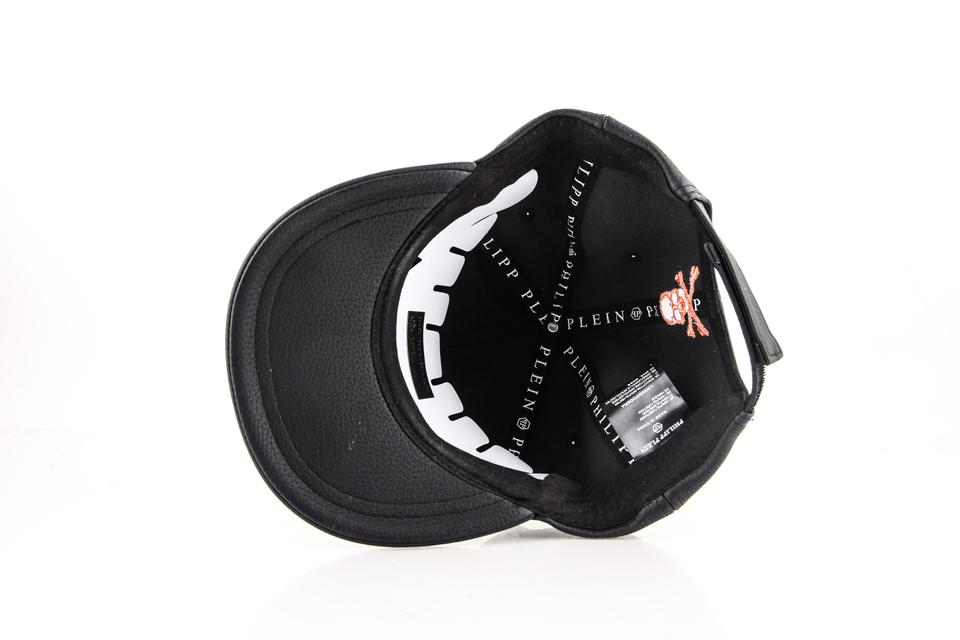 8e17e40636af9 Philipp Plein Philipp Plein Tony Baseball Hat Black Orange Image 4. 12345