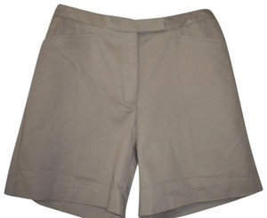 Cutter & Buck Khaki New Bermuda Shorts Tan