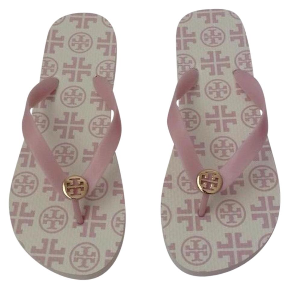 f8fb368aea11 Tory Burch Pink Flip Flops with Gift Bag Sandals Size US 11 Regular ...
