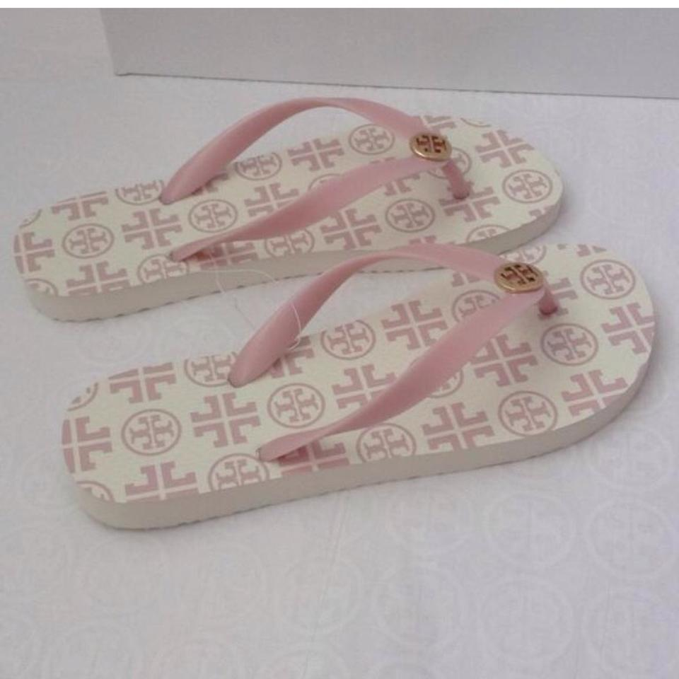 ac071522bae5d5 Tory Burch Pink Flip Flops with Gift Bag Sandals Size US 11 Regular ...