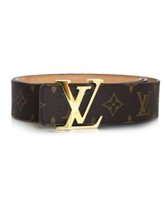 Louis Vuitton Louis Vuitton Monogram 40mm Initiales Belt Sz 95 with Box, DB