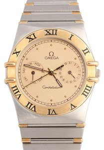 Omega Mid-Size Constellation Two Tone Watch